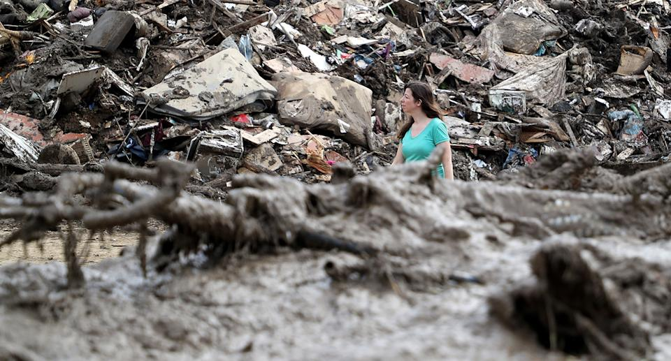 Clean up efforts are continuing in Germany as questions are being raised about whether authorities did enough to prepare for the disaster. Source: AP