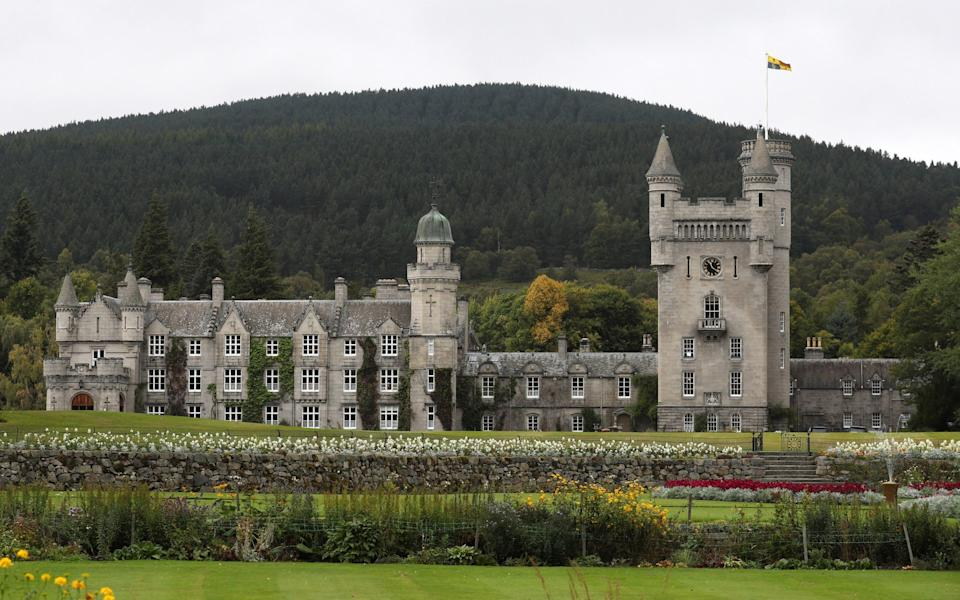 Balmoral castle emerges from the mist in Aberdeen, Scotland  - Andrew Milligan