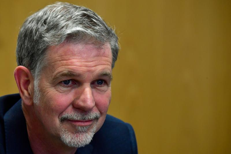 Reed Hastings, fundador e CEO da Netflix. (Foto: JOHN MACDOUGALL/AFP via Getty Images)