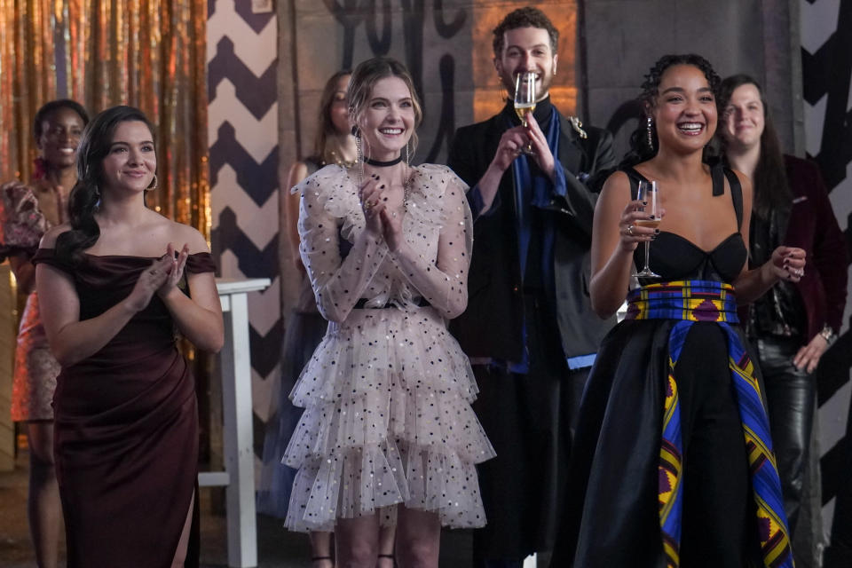 """Jane, Sutton and Kat on """"The Bold Type."""" - Credit: Freeform"""
