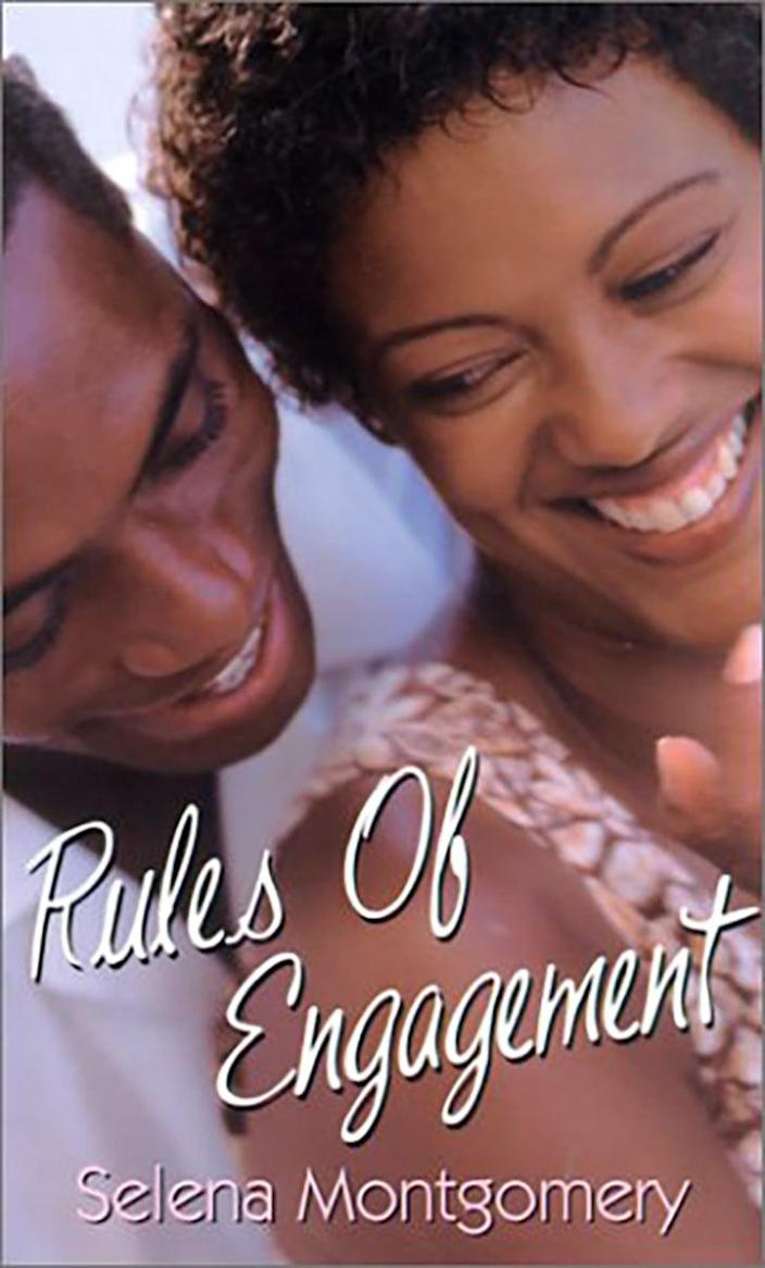 <p>Released in 2001, <span><strong>Rules of Engagement</strong></span> ($99) is the first novel Abrams wrote under her Selena Montgomery pen name. It tells the story of Dr. Raleigh Foster, who goes undercover to infiltrate a terrorist group and winds up being assigned to pose as the lover of the handsome Adam Grayson.</p>