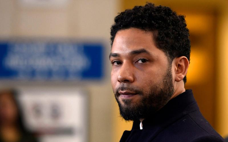 Chicago police released hundreds of files from the investigation into Smollett's claim he was attacked by two men - FR36811 AP