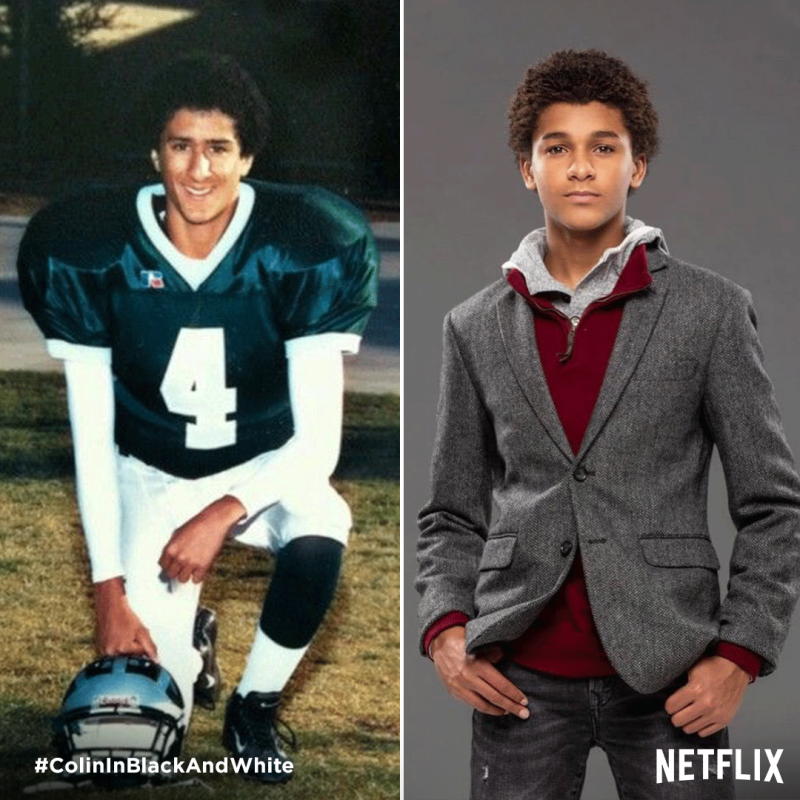 Netflix Casts Jaden Michael as Young Colin Kaepernick in Limited Series About NFL Star's Upbringing