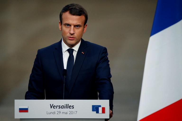 French president Macron creates new counterterrorism unit