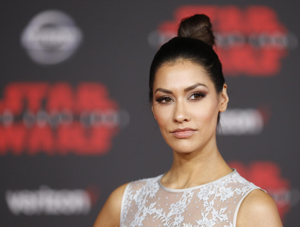 "World Premiere of ""Star Wars: The Last Jedi"" – Arrivals – Los Angeles, California, U.S., 09/12/2017  – Actress Janina Gavankar. REUTERS/Danny Moloshok"