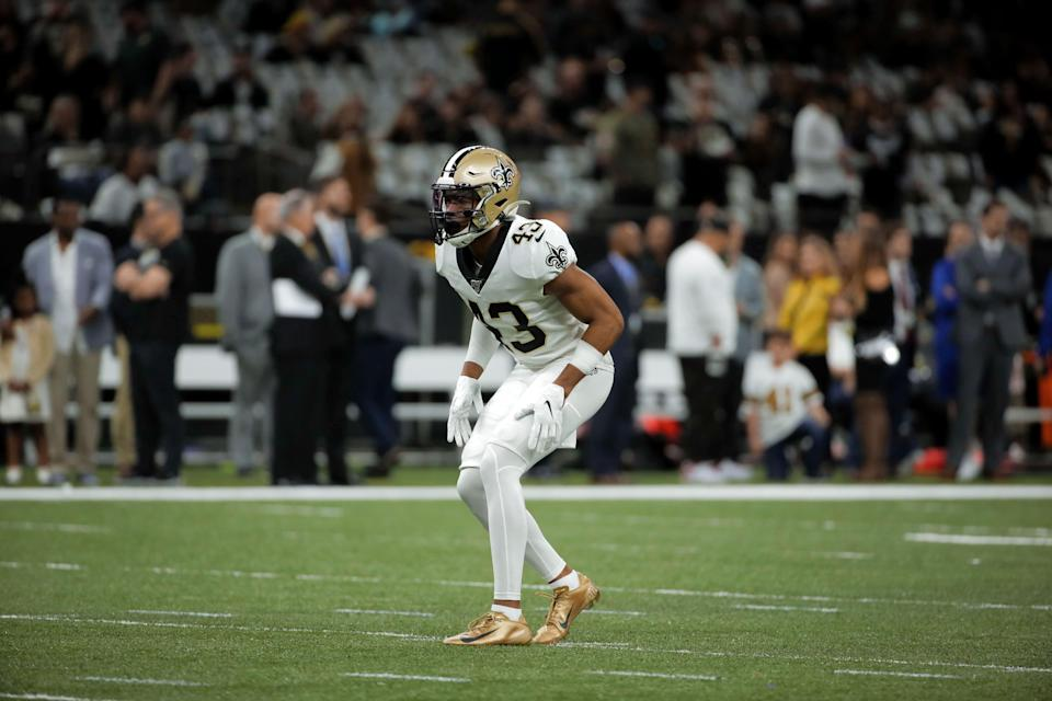 CB Marshon Lattimore was a first-round pick of the Saints in 2017.