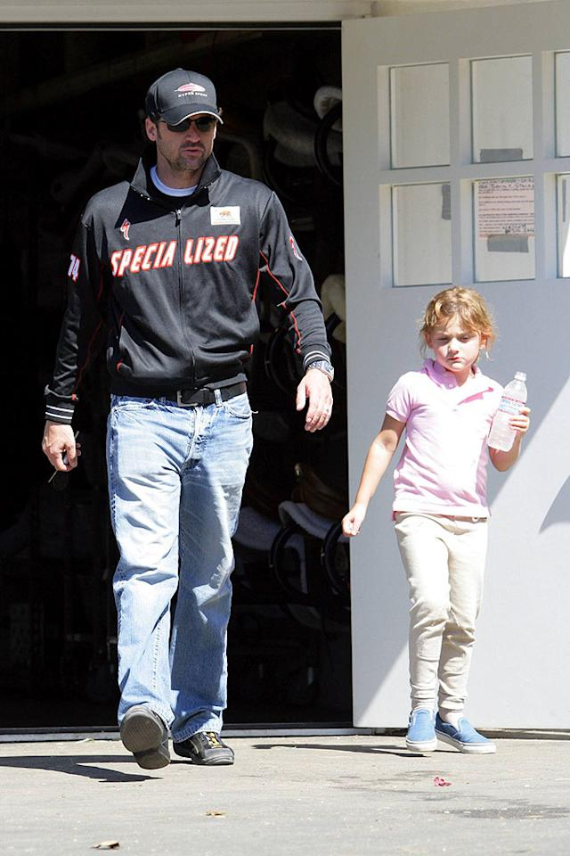 """My dad's not a doctor, he only plays one on TV,"" thinks Patrick Dempsey's daughter Tallulah. Ginsburg-Spaly-Bebey/<a href=""http://www.x17online.com"" target=""new"">X17 Online</a> - September 30, 2007"