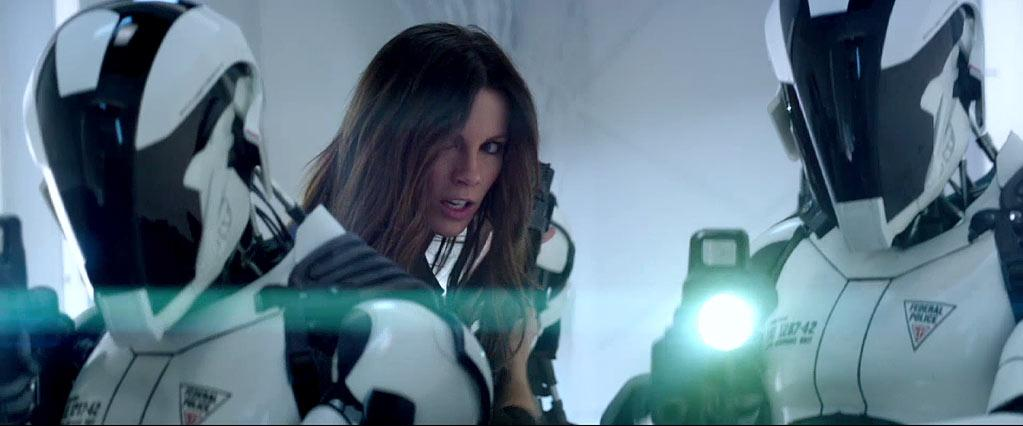 """<b>Lori</b><br> Believe it or not, Kate Beckinsale is playing the villain in """"Total Recall,"""" based on a Philip K. Dick short story (and <em>not</em> the '80s film version starring Arnold Schwarzenegger). This is the first time she has taken on the part of the villainess, as Lori, and has at least one vicious fight scene with Jessica Biel. Director Len Wiseman has <a href=""""http://www.mtv.com/news/articles/1683538/total-recall-len-wiseman.jhtml"""">offered some scoop</a>: """"It was just a really vicious brawl, and in between the cuts, they both get so girly. Right on 'cut.' There's plenty of times when Kate actually just nicked Jessica [Biel]'s nose or same thing with Jessica, and they immediately just go from these vicious badass lethal killers to immediately very apologetic and very polite and girly. It's great to see."""" """"Total Recall"""" hits theaters August 3rd."""
