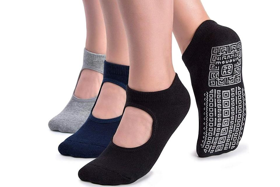 yoga socks, amazon