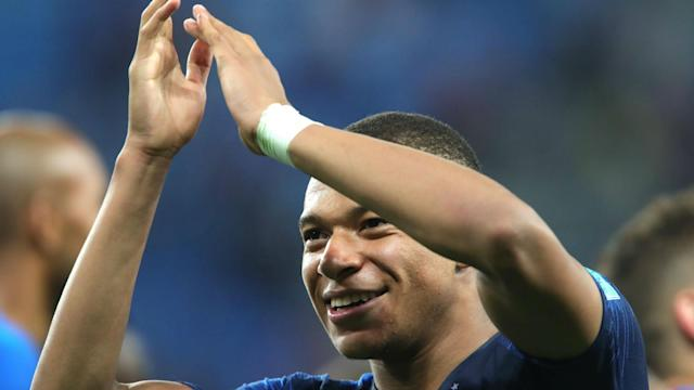 Kylian Mbappe has been chided by Paris Saint-Germain team-mate Thomas Meunier over his time-wasting during the World Cup semi-final.