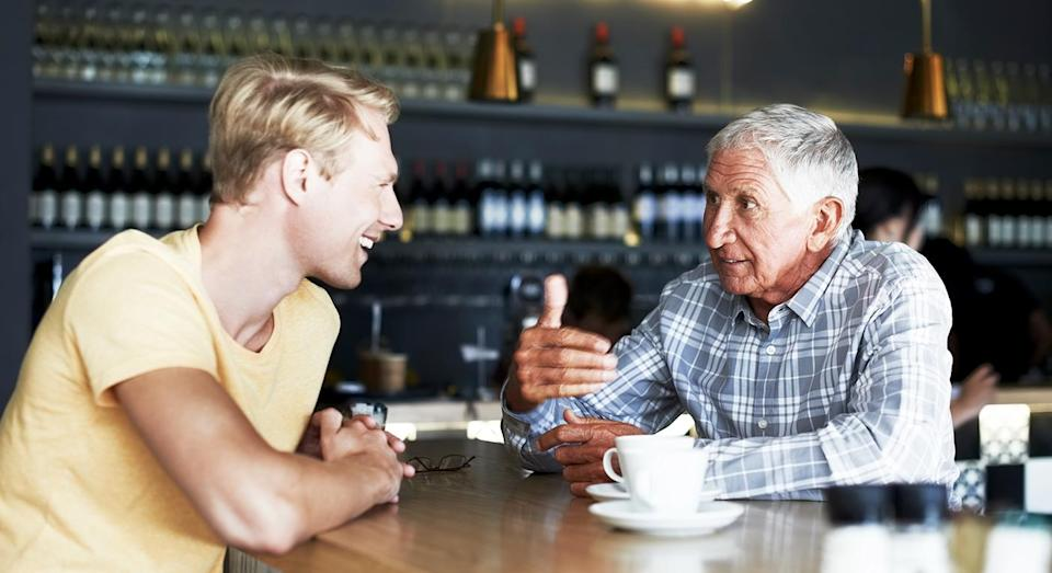 People reach peak happiness in their 70s, according to a new report. [Photo: Getty]