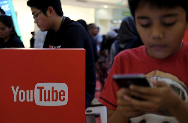 <p>No. 5: YouTube<br>16 per cent say they can't live without it.<br>(Reuters) </p>