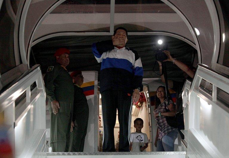 Chavez, who won reelection in October, stunned his countrymen when he revealed that the disease had returned