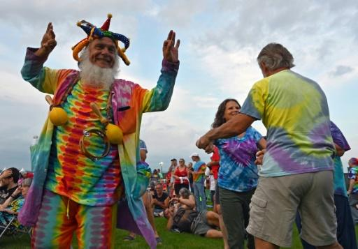 Joy reigned as baby boomers relived their glory days at the 50th anniversary of the 1969 Woodstock festival
