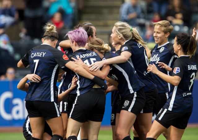 The National Women's Soccer League could soon return to action. (Photo by Lindsey Wasson/Getty Images)