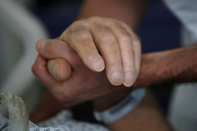 French hospital faces second wave of COVID patients