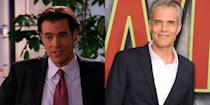 <p>Between the original seasons of <em>Twin Peaks</em> and 2017's revival, Dana Ashbrook appeared on nine episodes of <em>Dawson's Creek</em>, playing Pacey's awful, bro'd-out stockbroker boss on season six. </p>