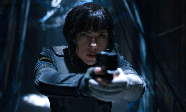 Scarlett Johansson in 'Ghost In The Shell' - Paramount