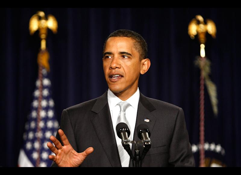 President Barack Obama and the Democratic-controlled Congress spend an intense year ironing out legislation to require most companies to cover their workers; mandate that everyone have coverage or pay a fine; require insurance companies to accept all comers, regardless of any pre-existing conditions; and assist people who can't afford insurance.