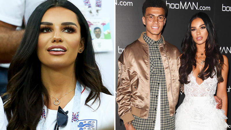 Ruby Mae and Dele Alli, pictured here in 2018.