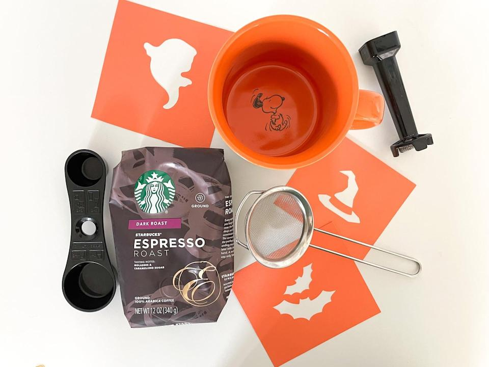<p>Once you have your stencil, you're ready to get started on your coffee. </p>