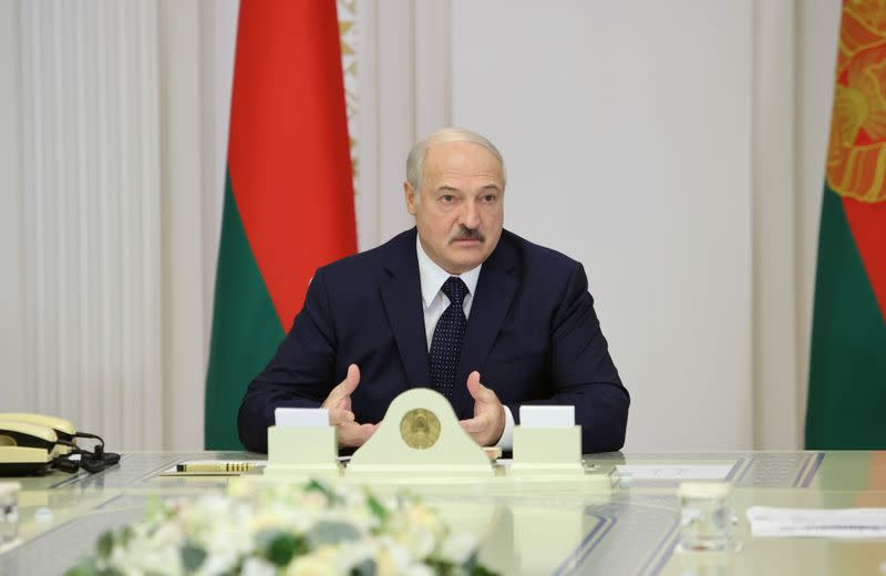 Belarus will shut transit routes if sanctions imposed, Lukashenko says