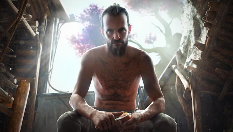 The leader of the Project at Eden's Gate cult, Joseph Seed, makes his return in New Dawn. (Ubisoft)