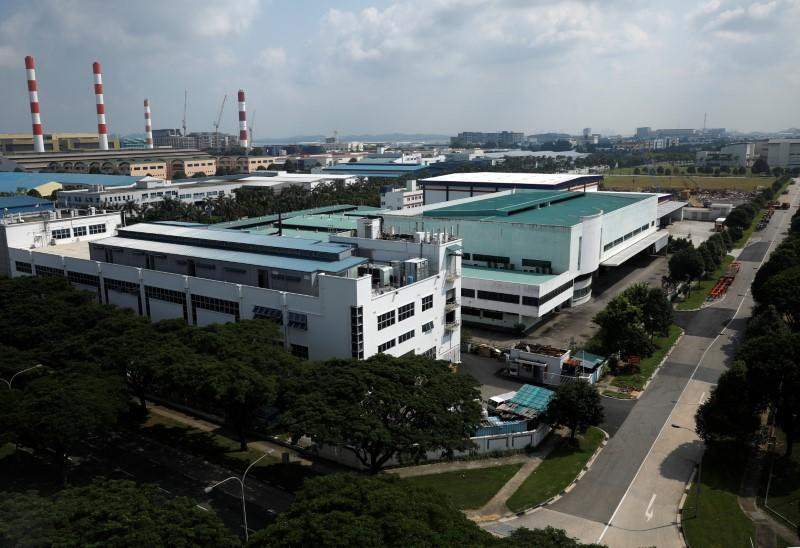 Singapore factories post biggest output drop on record as virus bites