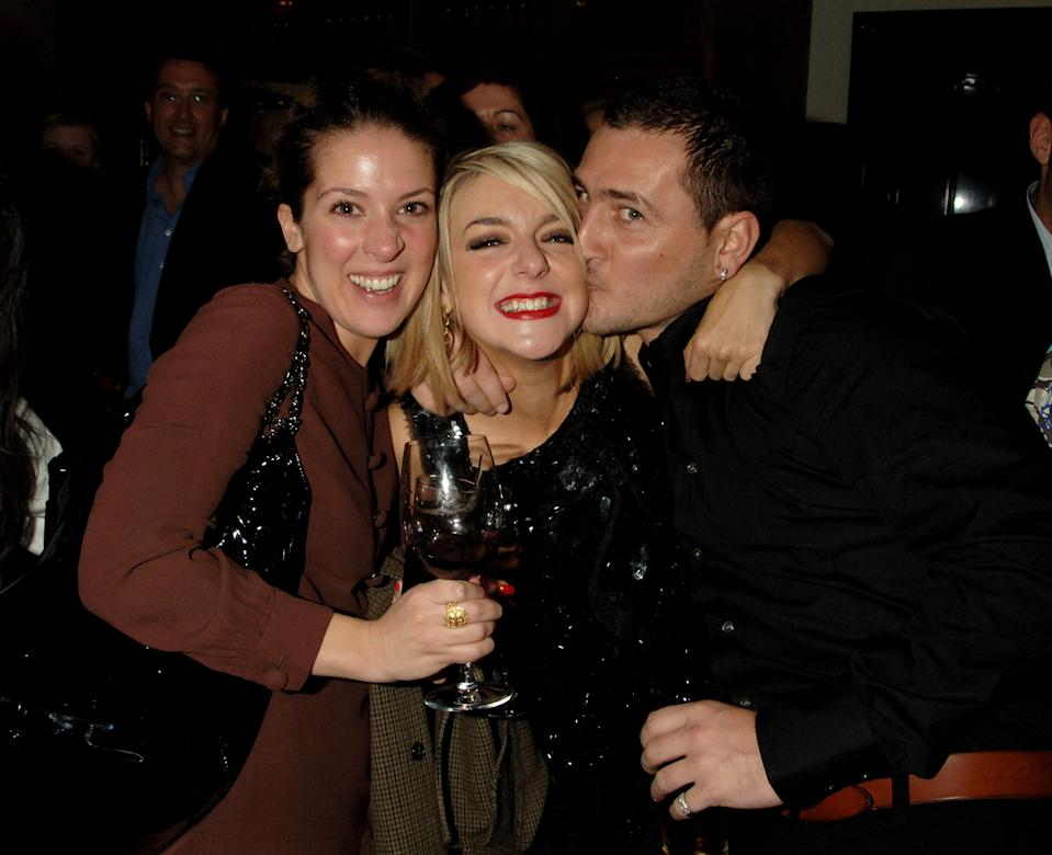 LONDON - MARCH 12:  (EMBARGOED FOR PUBLICATION IN UK TABLOID NEWSPAPERS UNTIL 48 HOURS AFTER CREATE DATE AND TIME)  (L-R) Natalie Casey, Sheridan Smith and Will Mellor attend the after show following the press night of 'Little Shop Of Horrors', at the National Gallery Cafe on March 12, 2007 in London, England.  (Photo by Dave M. Benett/Getty Images)