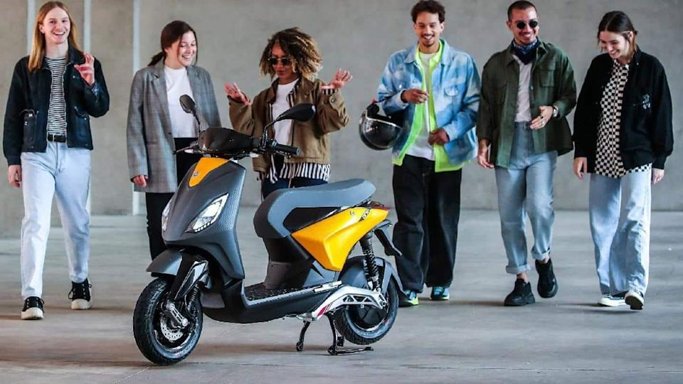 Ahead of launch, Piaggio unveils One electric scooter in China