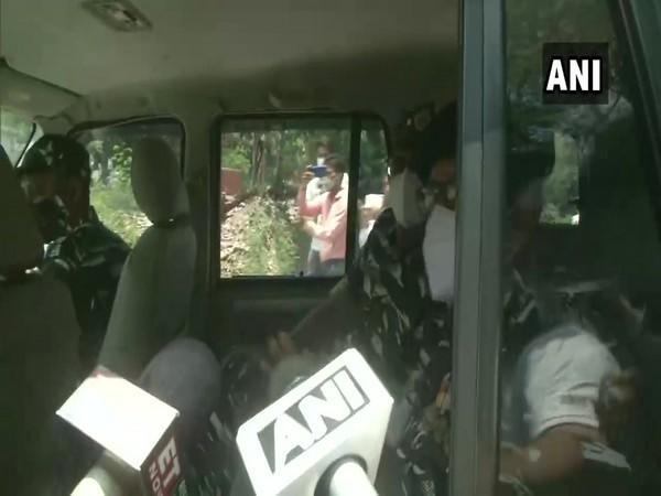 DIG CRPS reaches the site of the blasts. (Photo/ANI)