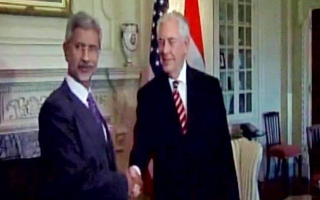 S Jaishankar meets US Secretary of state Tillerson, discusses India-US ties, H-1B visa