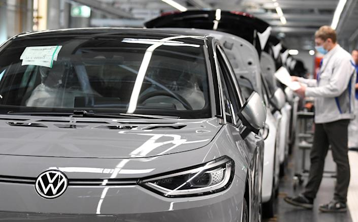 The German government has allocated €2bn as stimulus for the automotive industry overall. Photo: Hendrik Schmidt/Reuters