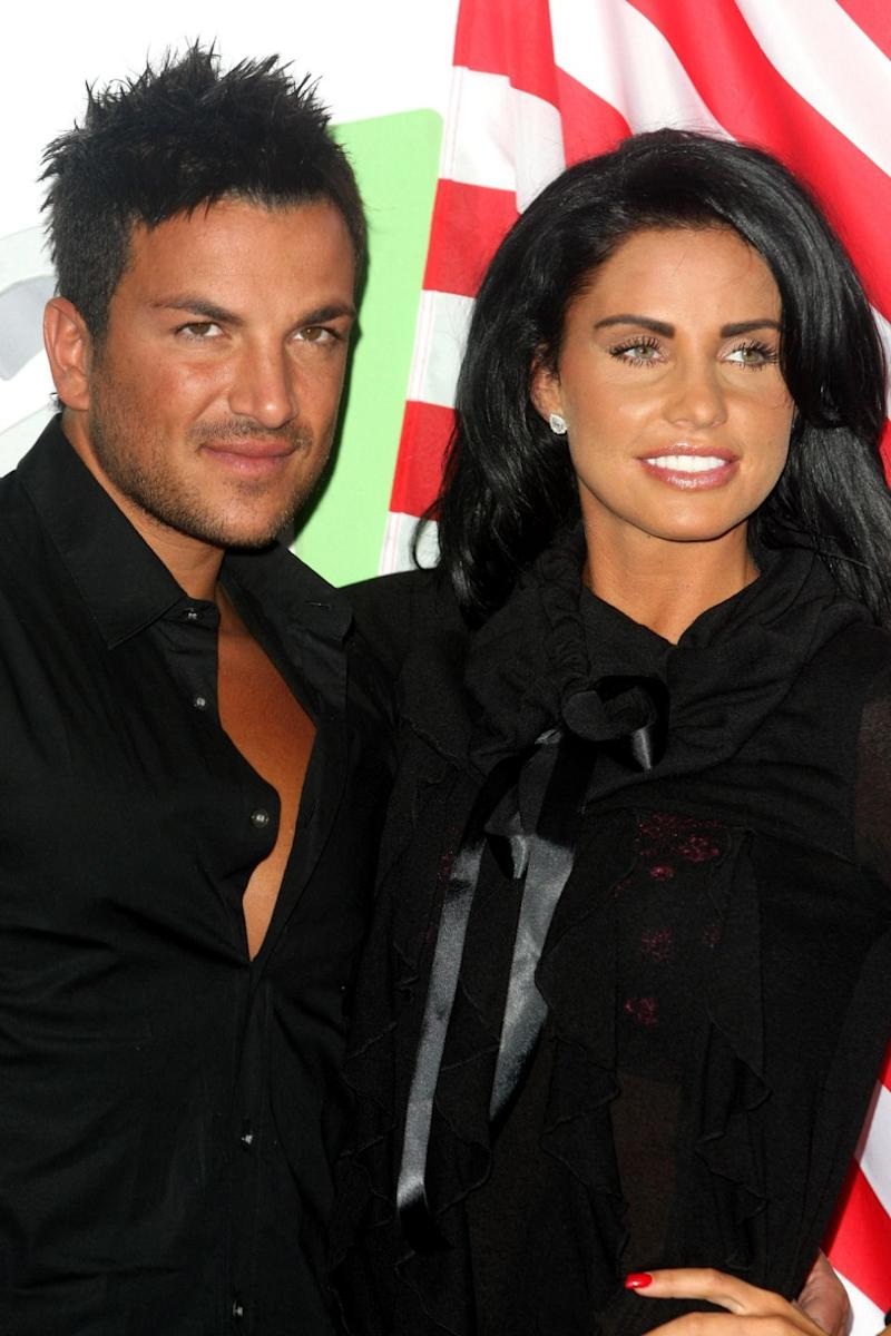 Katie was previously married to Aussie star, Peter Andre. Photo: Getty Images