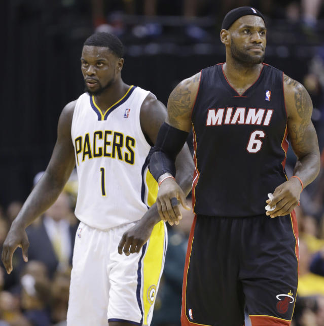 Neither LeBron James, nor the Pacers, are laughing at Lance Stephenson's clown act
