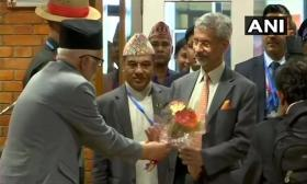 External Affairs Minister S Jaishankar arrives in Nepal to co-chair Joint Commisson meeting