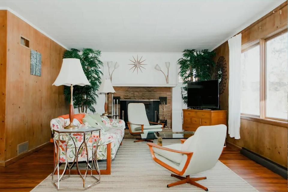 A mid-century mod stay in Sawyer