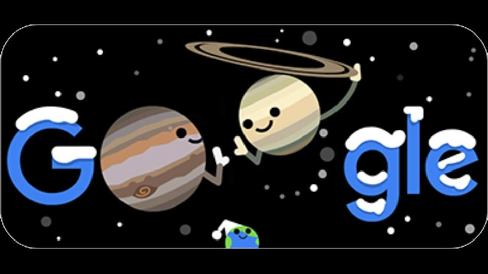 Special 'Google Doodle' celebrates 2020's Great Conjunction