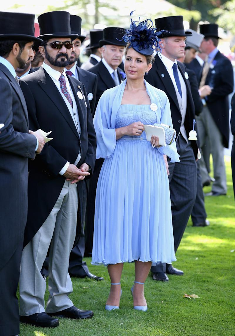 Princess Haya with Sheikh Mohammed (Getty Images)