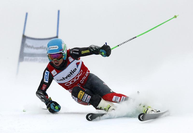 Ligety, Miller don't finish runs in WCup GS