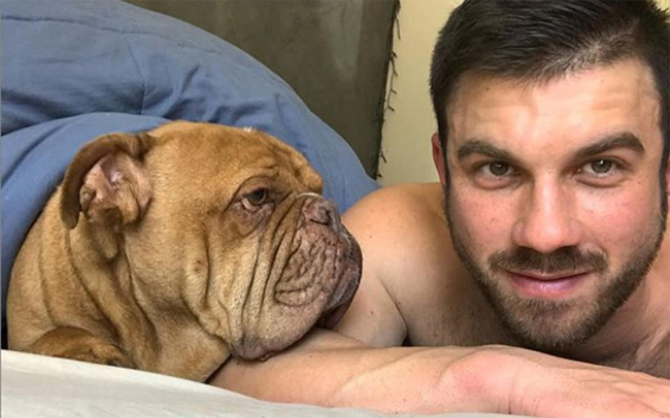 The 29-year-old wanted to raise money for a suicide prevention charity after his father took his life in 2016. Image: Supplied