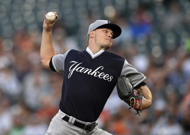 Starting pitcher Sonny Gray's time in the Bronx has come to an end. (AP)