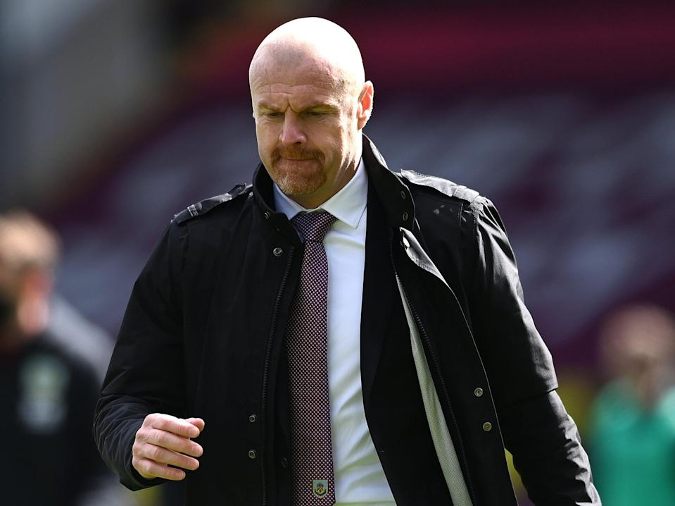 Burnley coach Sean Dyche (Getty Images)