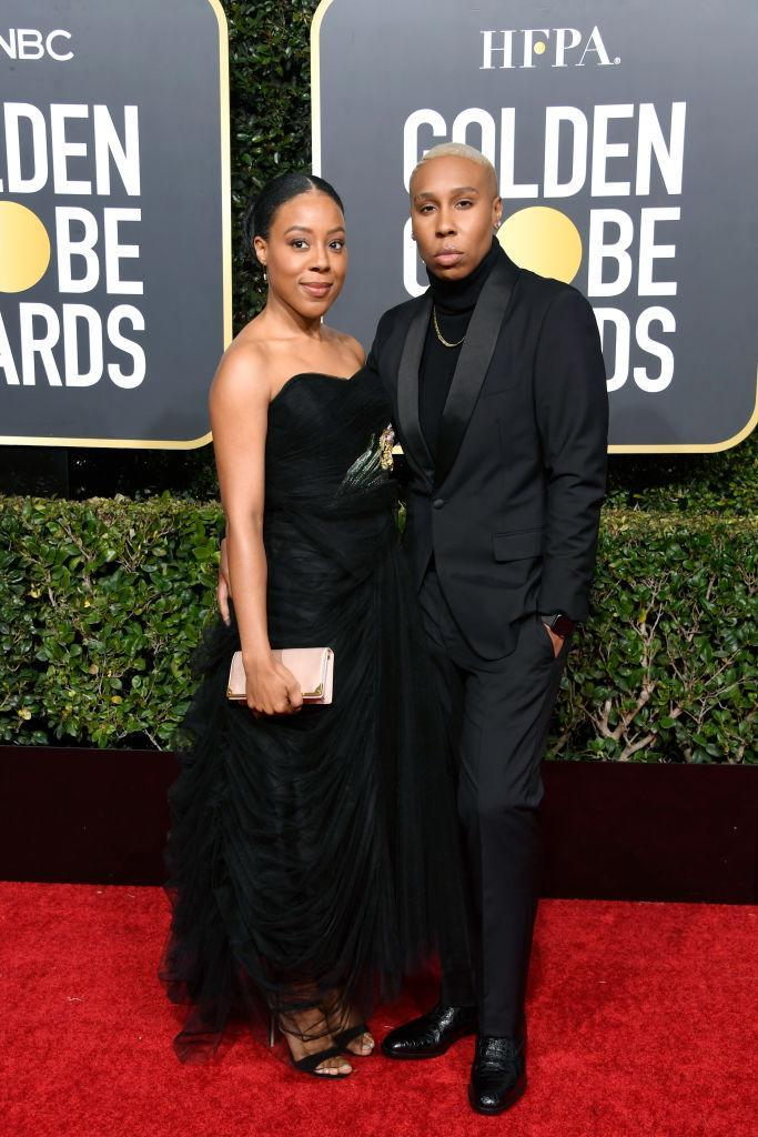 <p>Alana Mayo, left, and Lena Waithe attend the 76th Annual Golden Globe Awards at the Beverly Hilton Hotel in Beverly Hills, Calif., on Jan. 6, 2019. (Photo: Getty Images) </p>