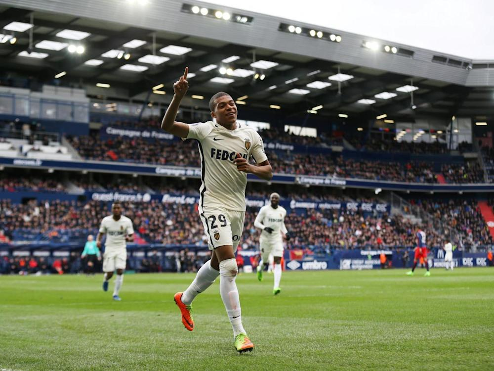 Mbappé was applauded by all corners of the ground (Getty)