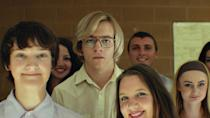 """<p>This movie is the <a href=""""https://www.popsugar.com/entertainment/My-Friend-Dahmer-True-Story-43471218"""" class=""""link rapid-noclick-resp"""" rel=""""nofollow noopener"""" target=""""_blank"""" data-ylk=""""slk:true story of serial killer Jeffrey Dahmer"""">true story of serial killer Jeffrey Dahmer</a>, particularly over his younger days in school.</p> <p><a href=""""https://www.amazon.com/My-Friend-Dahmer-Ross-Lynch/dp/B079JZMLNV/ref=sr_1_2?dchild=1&amp;keywords=My+Friend+Dahmer&amp;qid=1597681202&amp;sr=8-2"""" class=""""link rapid-noclick-resp"""" rel=""""nofollow noopener"""" target=""""_blank"""" data-ylk=""""slk:Watch My Friend Dahmer on Amazon Prime now"""">Watch <b>My Friend Dahmer</b> on Amazon Prime now</a>.</p>"""