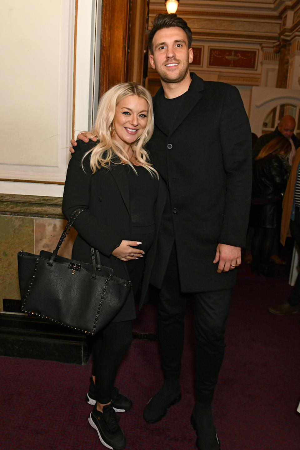 Sheridan Smith and Jamie Horn attend the Gala Charity Concert of