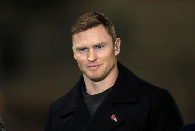 Former England wing Chris Ashton, pictured, was critical of James Lowe during the Autumn Nations Cup