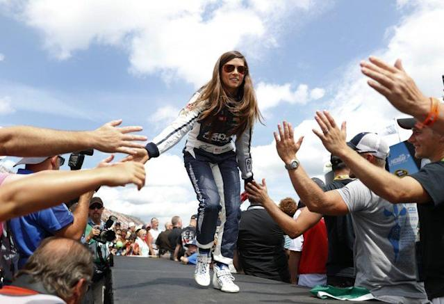Danica Patrick is entering her fifth season in NASCAR and says she will give it up when it's not fun to her anymore. (AP)