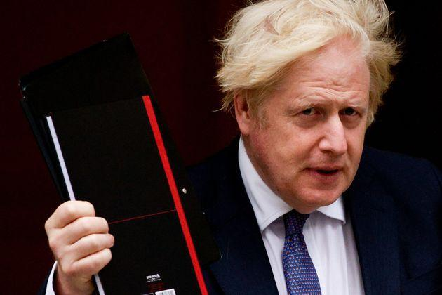 Boris Johnson's official spokesman said the £286m in aid would not be given to the Taliban but would be distributed in conjunction with the UN and other NGOs. (Photo: Anadolu Agency via Getty Images)